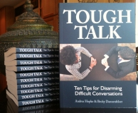 Tough Talk book stack